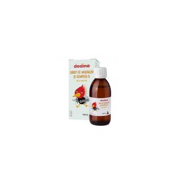 Dodino-sirop mg+complex b+miere  150 ml ALEVIA