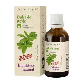 Dulce de stevie fara alcool 50 ml DACIA PLANT
