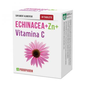 Echinacea + zinc + vitamina c 30 tbl PARAPHARM