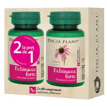 Echinacea forte 1+1 gratis 60 cpr DACIA PLANT