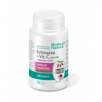 Echinaceea+vitamina c+seleniu+zinc 30 cps ROTTA NATURA