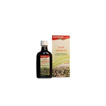 Elixir depurativ 200 ml FAVISAN