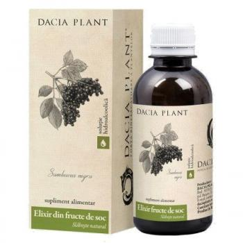 Elixir din fructe de soc 200 ml DACIA PLANT