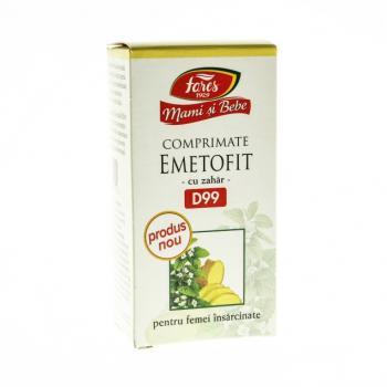 Emetofit pentru femei insarcinate d99 60 cpr MAMI SI BEBE
