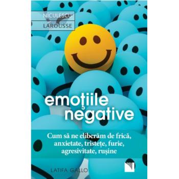 Emotiile negative. cum sa ne eliberam de frica, anxietate, tristete, furie, agresivitate, rusine 1 gr EDITURA NICULESCU