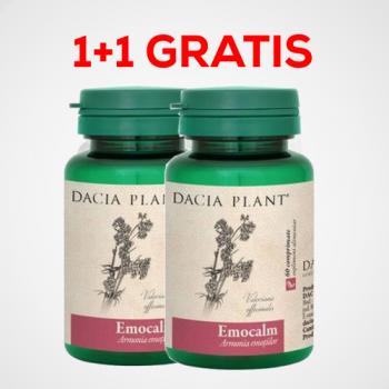 Emocalm  PROMO 1+1 GRATIS 60+60 gr DACIA PLANT
