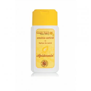 Emulsie antirid cu laptisor de matca 100 ml APIDERMIN