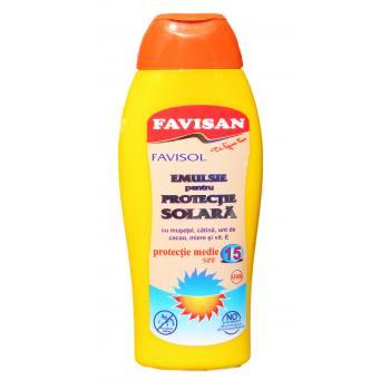 Emulsie protectie solara fps15 m035 250 ml FAVISAN