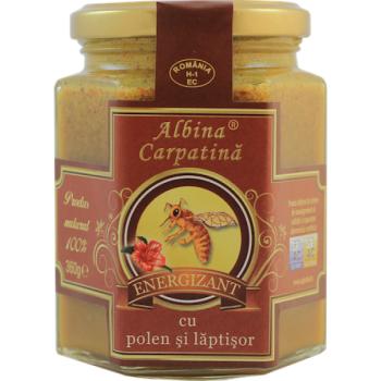 Energizant cu polen si laptisor de matca 360 gr ALBINA CARPATINA
