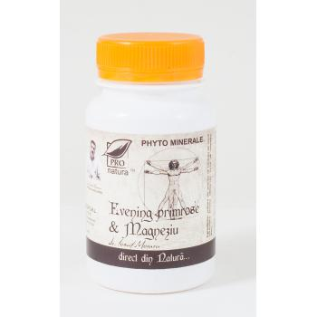 Evening primrose & magneziu 60 cps PRO NATURA