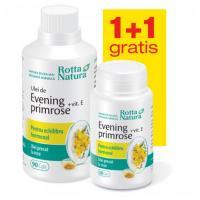 Evening primrose + vitamina  e - pachet promotional 1 + 1 ROTTA NATURA