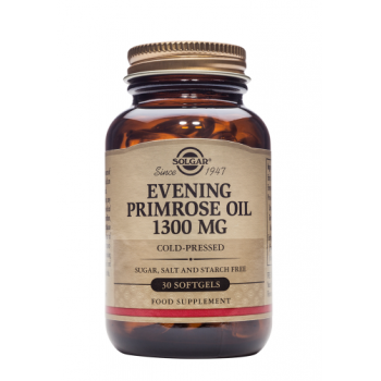 Evening primrose oil 1300 mg 30 cps SOLGAR