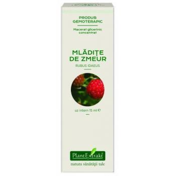 Extract concentrat din mladite de zmeur - rubus idaeus mg 15 ml PLANTEXTRAKT