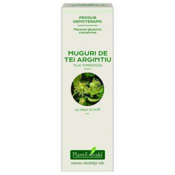 Extract concentrat din muguri de tei argintiu - tilia tomentosa mg 15 ml PLANTEXTRAKT