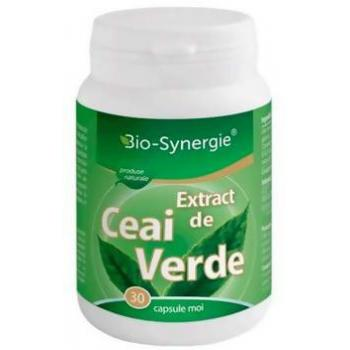 Extract de ceai verde 30 cps BIO-SYNERGIE