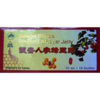 Fiole cu extracte de ginkgo biloba, ginseng si royal jelly 10ml