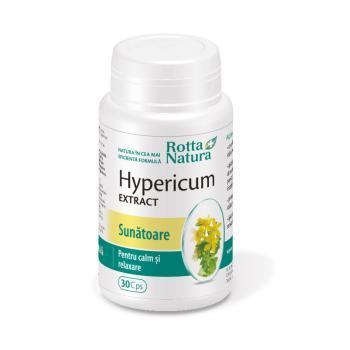 Extract de hypericum 30 cps ROTTA NATURA