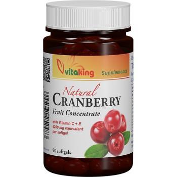 Extract de merisor (afin rosu) cu vitamina c+e 90 cps VITAKING