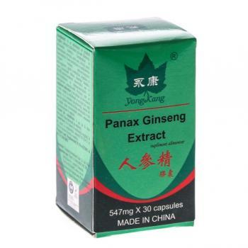 Extract de panax ginseng 30 cps YONG KANG