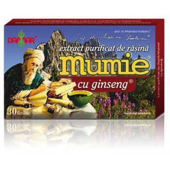 Extract de rasina mumie cu ginseng-tablete 30 tbl DAMAR