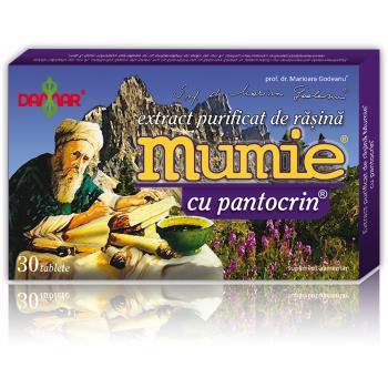 Extract de rasina mumie cu pantocrin 30 tbl DAMAR
