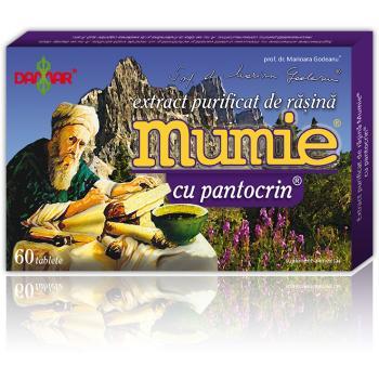 Extract de rasina mumie cu pantocrin-tablete 60 tbl DAMAR