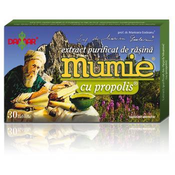 Extract de rasina mumie cu propolis-tablete 30 tbl DAMAR