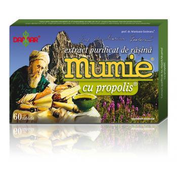 Extract de rasina mumie cu propolis-tablete 60 tbl DAMAR