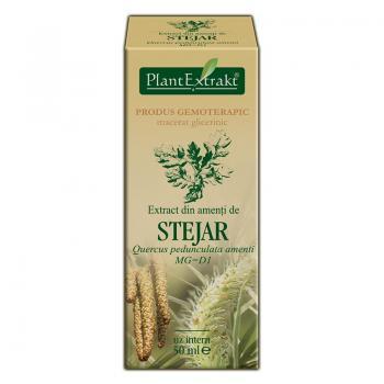 Extract din amenti de stejar - quercus pedunculata amenti mg=d1 50 ml PLANTEXTRAKT