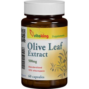 Extract din frunze de maslin 500mg 60 cps VITAKING