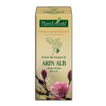Extract din muguri de arin alb - alnus incana mg=d1 50 ml PLANTEXTRAKT