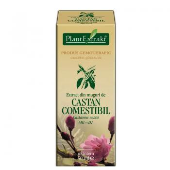 Extract din muguri de castan comestibil - castanea vesca mg=d1 50 ml PLANTEXTRAKT