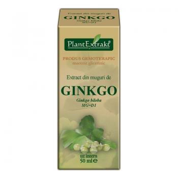 Extract din muguri de ginkgo - ginkgo biloba mg=d1 50 ml PLANTEXTRAKT