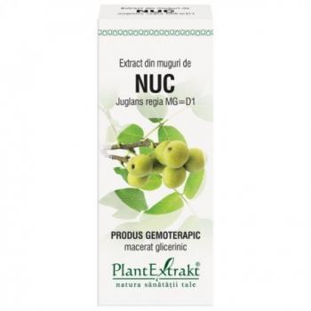 Extract din muguri de nuc - juglans regia mg=d1 50 ml PLANTEXTRAKT