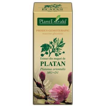 Extract din muguri de platan - platanus orientalis mg=d1 50 ml PLANTEXTRAKT
