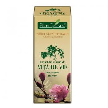 Extract din muguri de vita de vie - vitis vinifera mg=d1 50 ml PLANTEXTRAKT