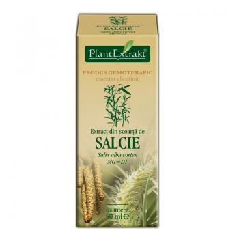 Extract din scoarta de salcie - salix alba cortex mg=d1 50 ml PLANTEXTRAKT