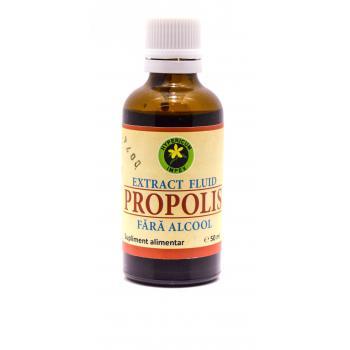 Extract fluid de propolis fara alcool 50 ml HYPERICUM