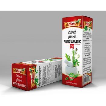 Extract gliceric anticelulitic 50 ml ADNATURA