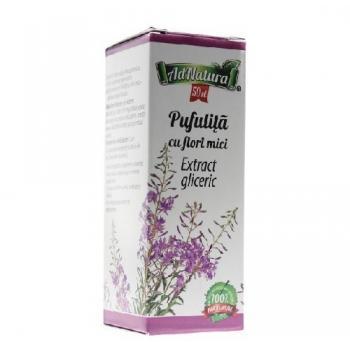 Extract gliceric de pufulita cu flori mici 50 ml ADNATURA