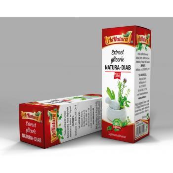 Extract gliceric natura - diab 50 ml ADNATURA
