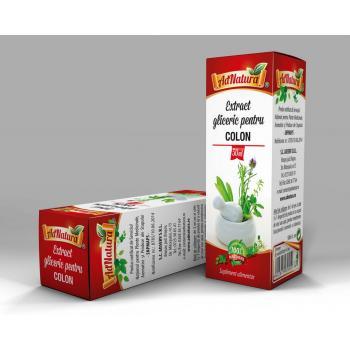 Extract gliceric pentru colon 50 ml ADNATURA