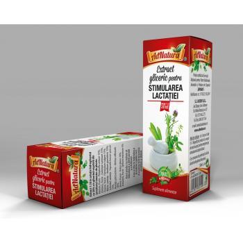 Extract gliceric stimularea lactatiei 50 ml ADNATURA