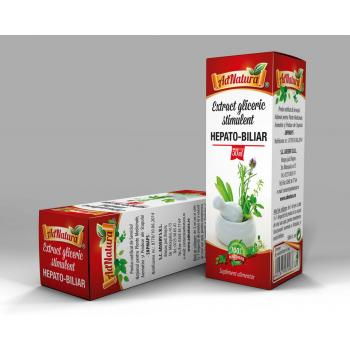 Extract gliceric stimulent hepato - biliar 50 ml ADNATURA
