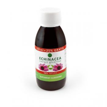 Extract glicerinat de echinacea 125 ml PLANTAVOREL