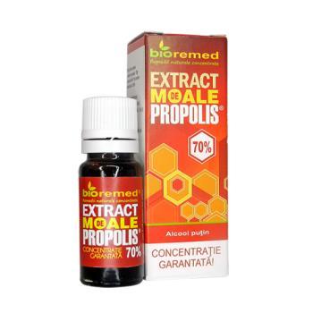 Extract moale de propolis 70% 10 ml BIOREMED