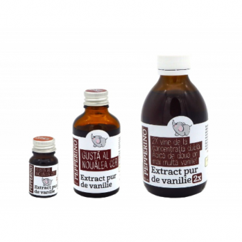 Extract pur de vanilie din Madagascar 50 ml PEPPERINO