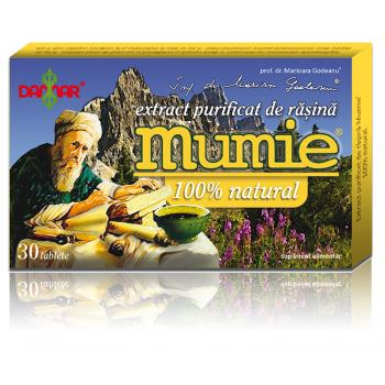 Extract de rasina mumie 100% natural-tablete 30 tbl DAMAR