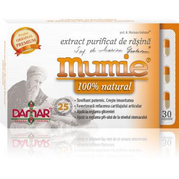 Extract purificat de rasina mumie 100% natural-capsule 30 cps DAMAR