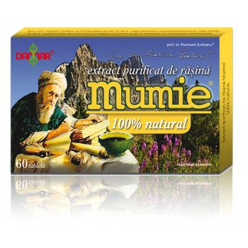 Extract de rasina mumie 100% natural-tablete 60 tbl DAMAR
